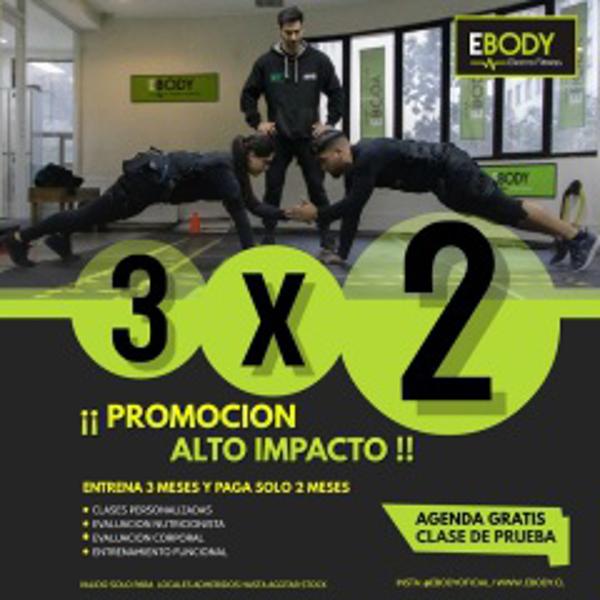 Franquicia Ebody Electro Fitness