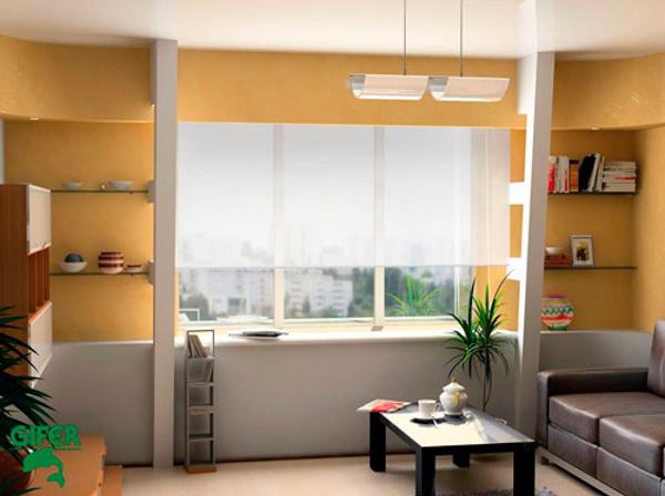 Confecci n e instalaci n de cortinas y panel japon s en for Franquicias de muebles